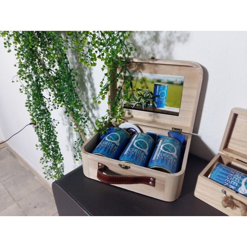 Greek oxygen gift box L
