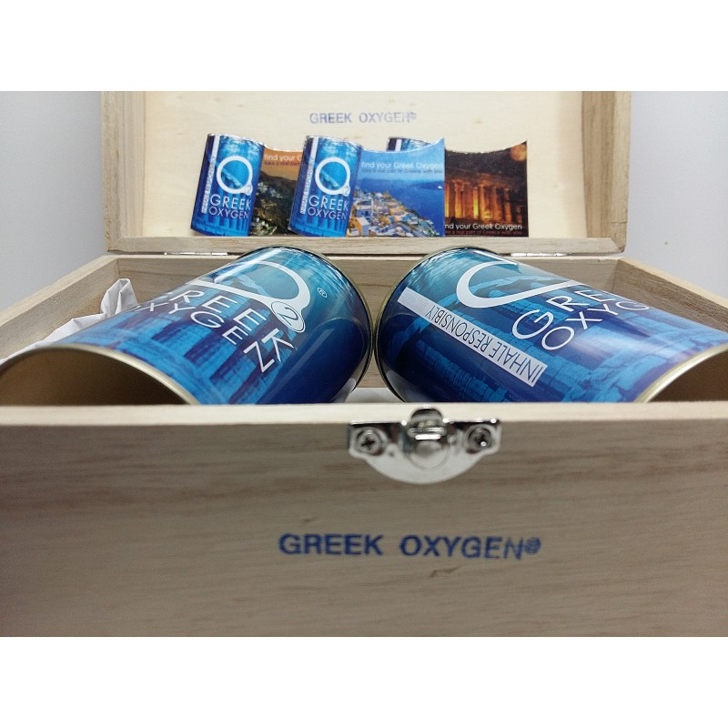 Greek oxygen gift box Μ