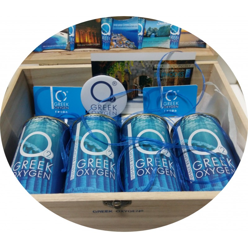 Greek oxygen gift box xL